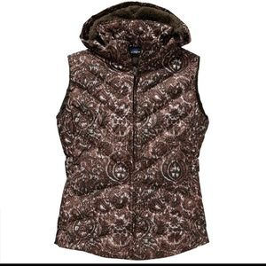 Womens Patagonia Down Vest size XL NWT